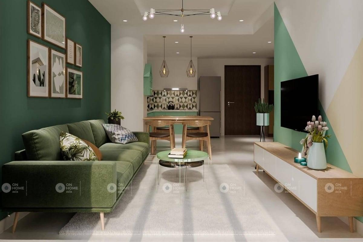 Thiết kế phòng khách chung cư đẹp và hiện đại
