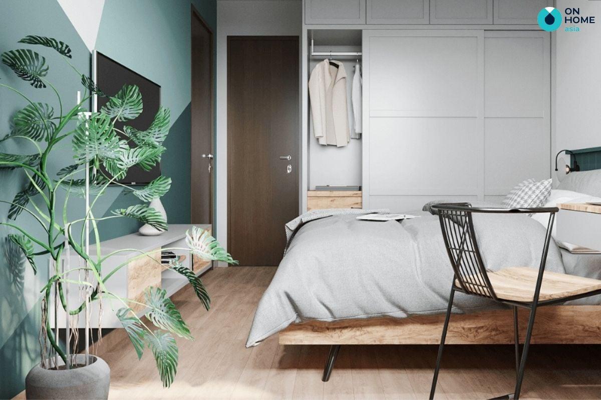 Mẫu phòng ngủ nhỏ 10m2 của chị Thanh Thảo tại chung cư The View