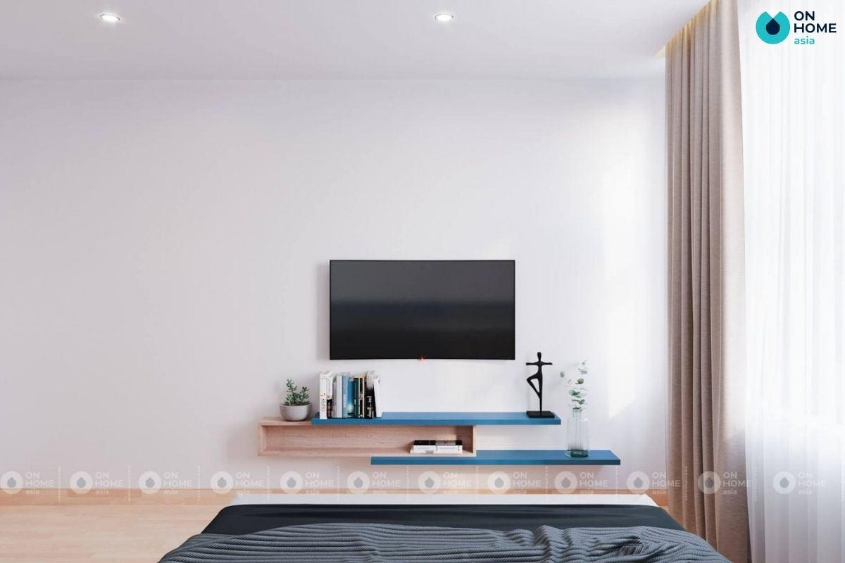 Mẫu phòng ngủ 12m2 cực đẹp của chị Hiền ở căn hộ Compass One