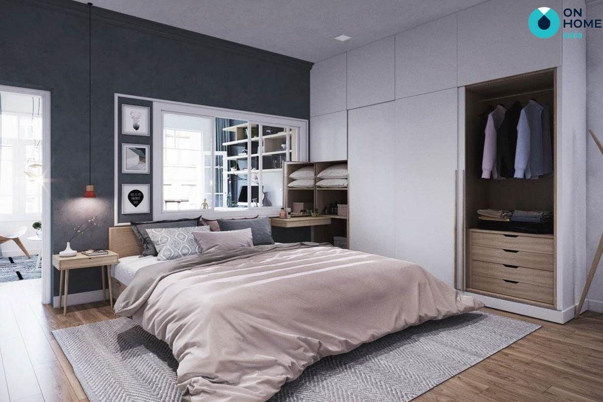 Phòng ngủ Bắc Âu