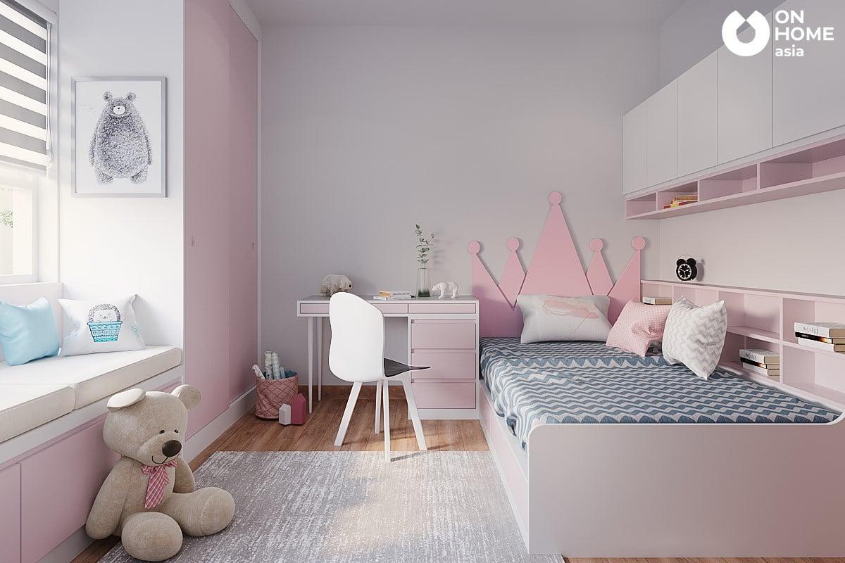 Nội thất phòng ngủ dành cho bé gái