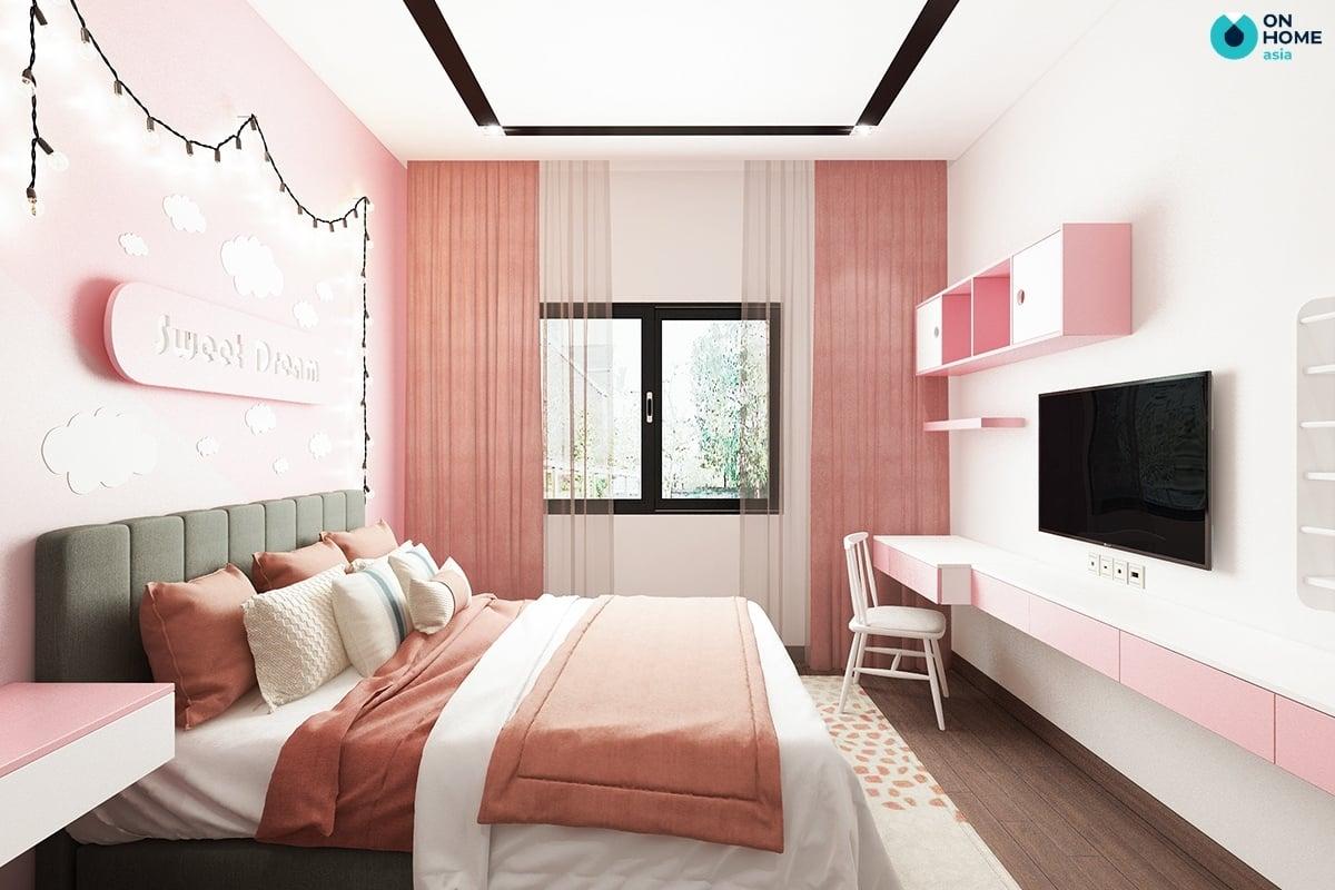 phòng ngủ lớn cho bé