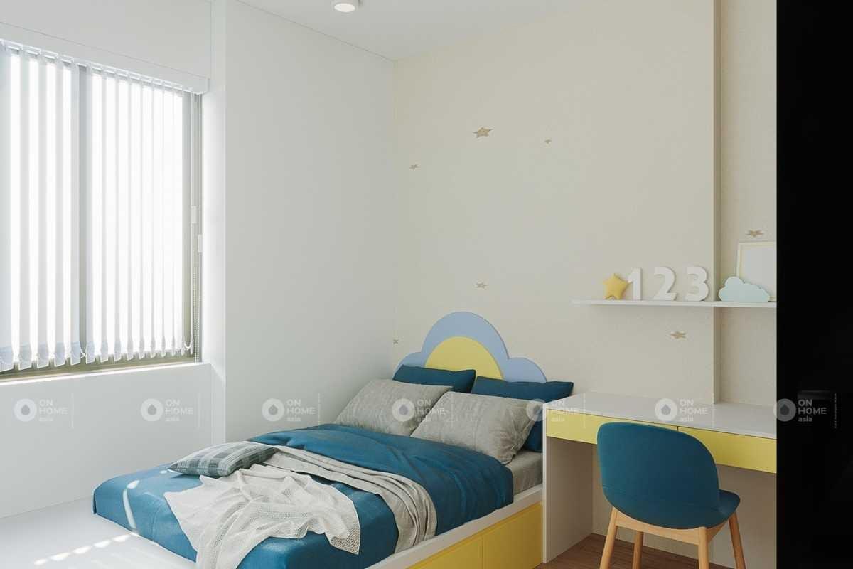 Mẫu thiết kế nội thất phòng ngủ của căn hộ Eco xuân 3 phòng ngủ