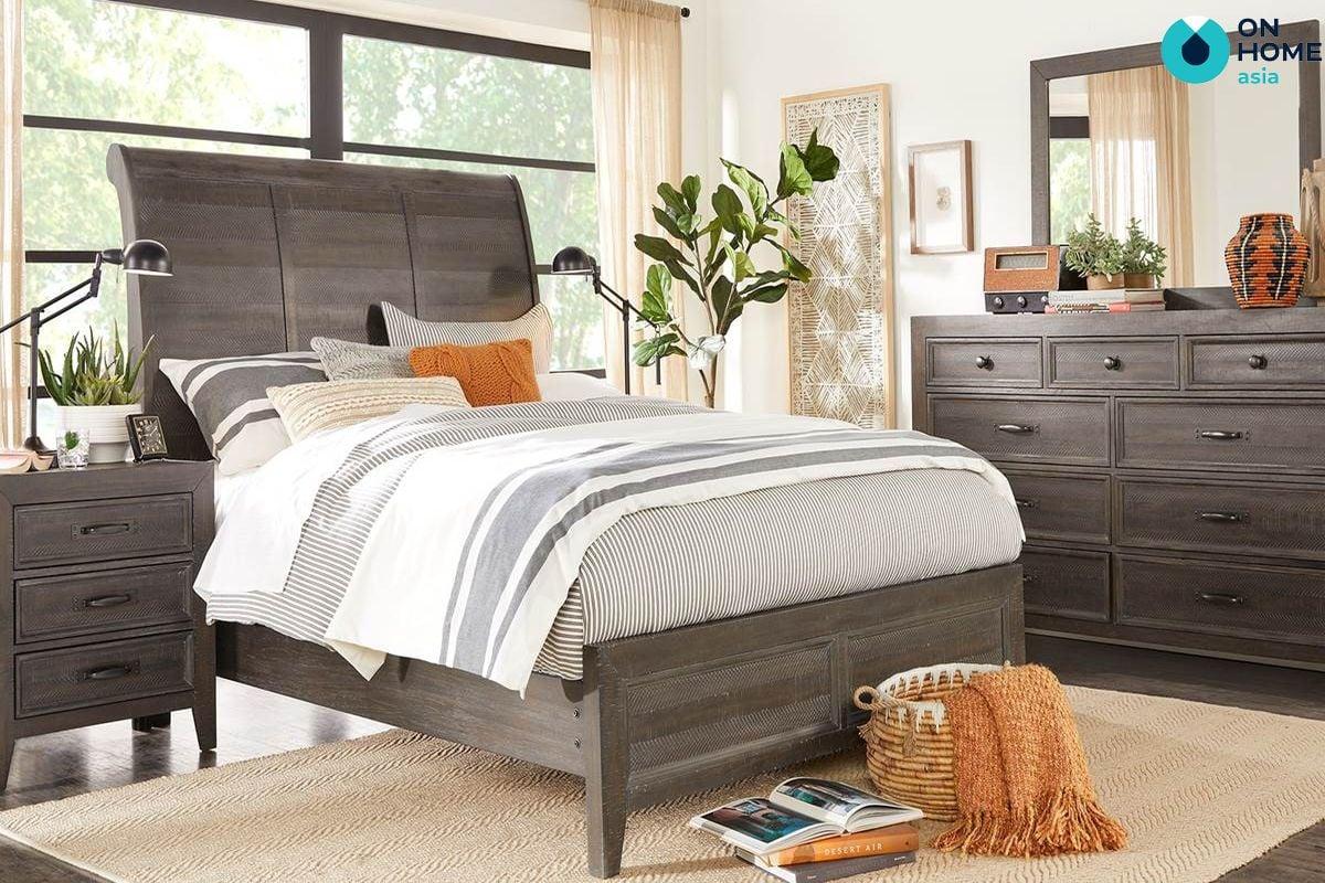 Phòng ngủ có thiết kế phù hợp tinh tế