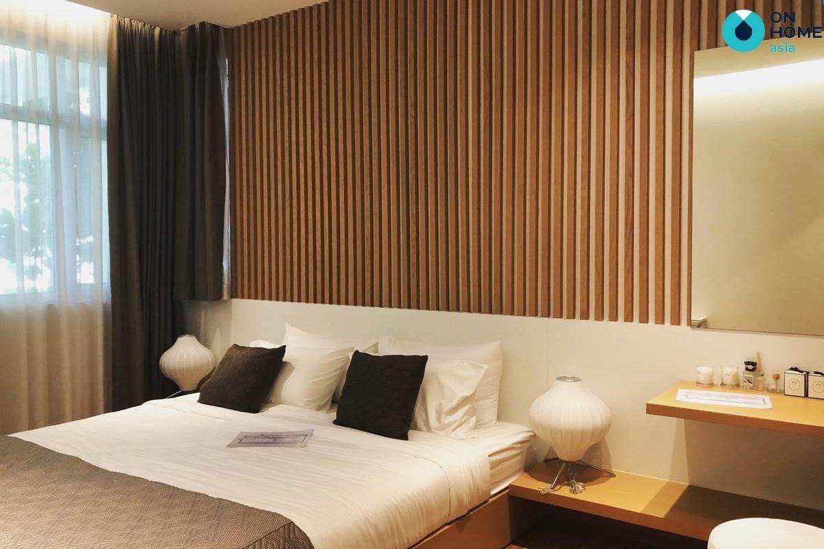 phòng ngủ căn hộ Habitat 1 phòng ngủ