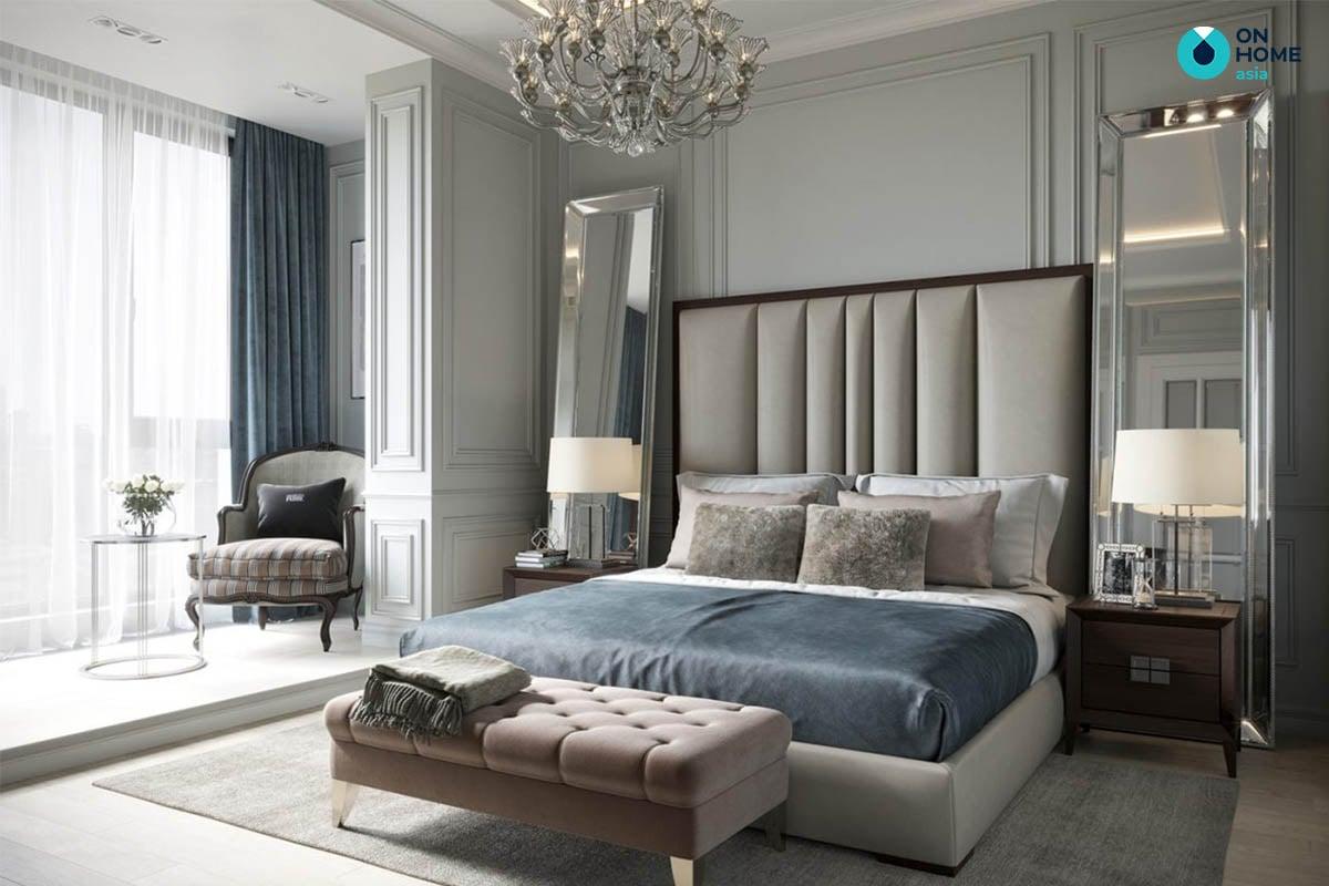 Phòng ngủ tân cổ điển đẹp