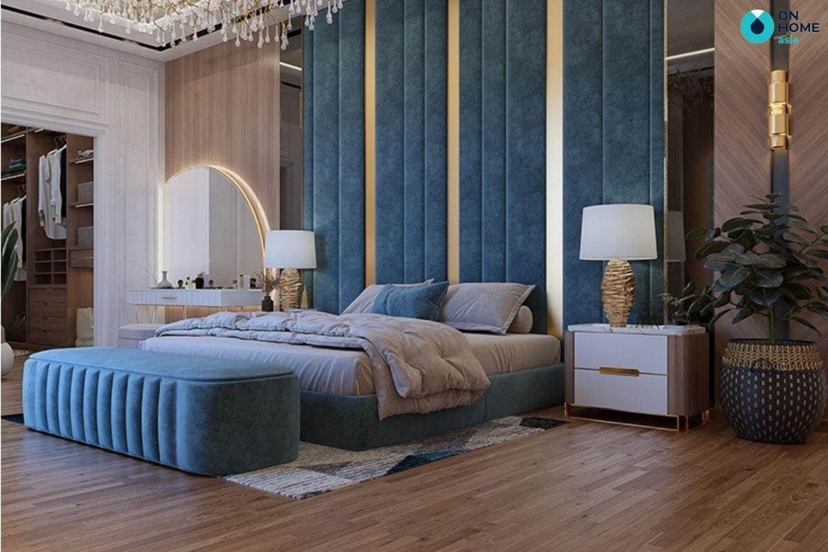 Nội thất phòng ngủ theo phong cách Luxury