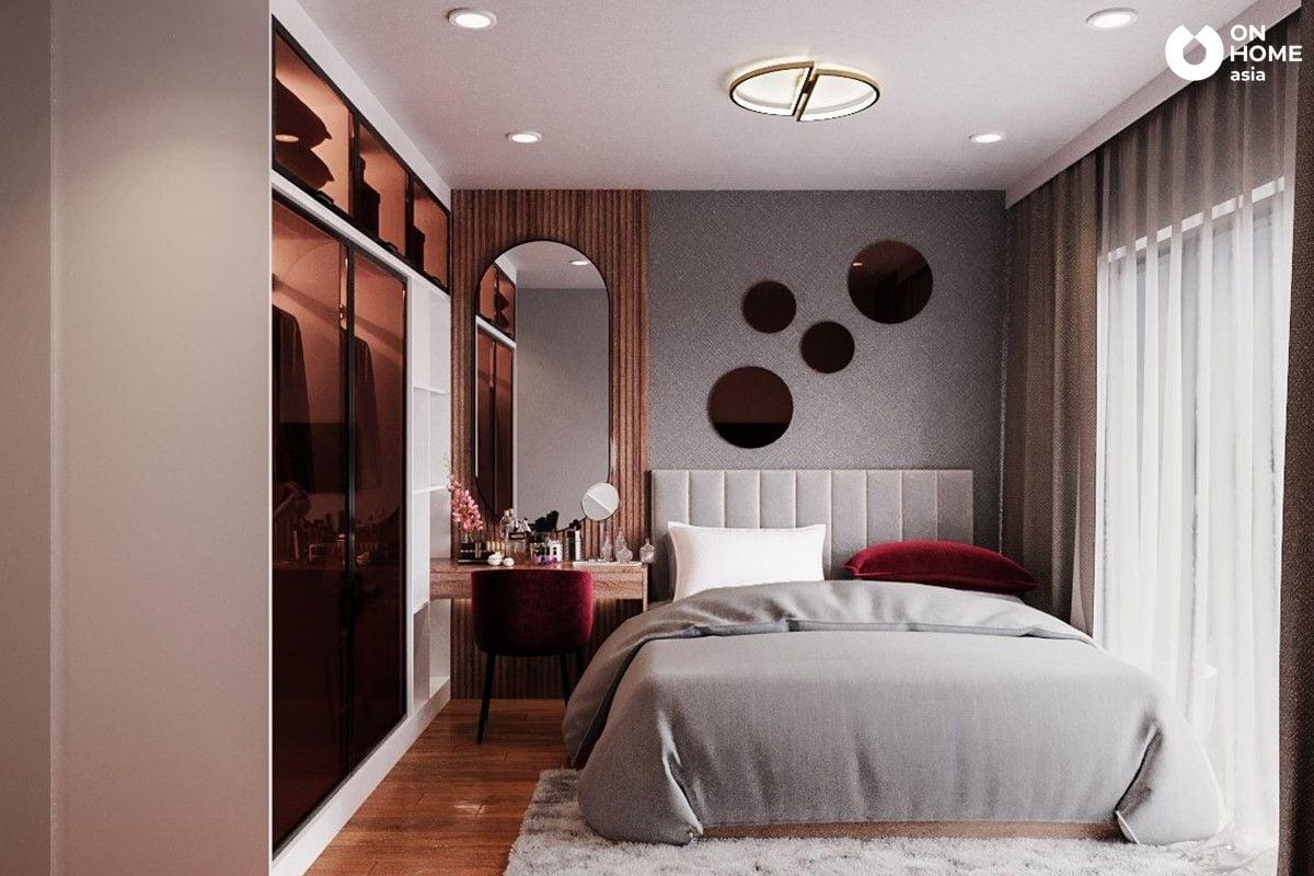 Phòng ngủ Master tinh tế và ấm áp