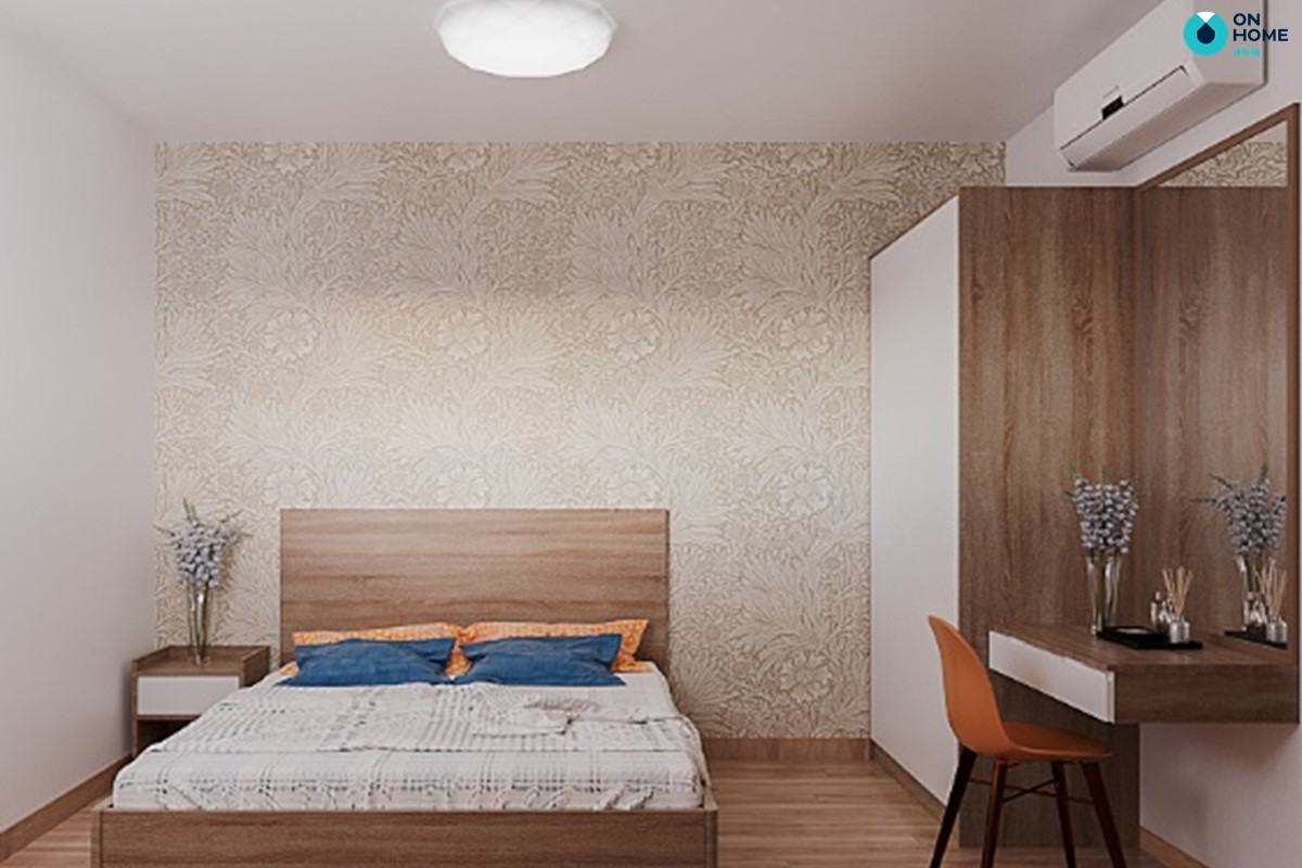 Phòng ngủ master căn hộ Habitat