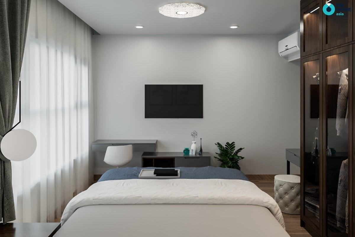 Nội thất phòng Master theo phong cách hiện đại