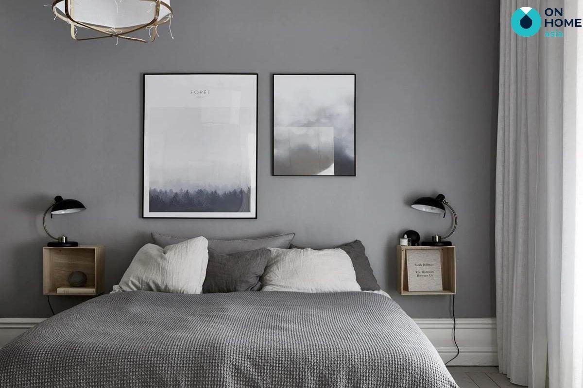 Phòng ngủ gam màu trung tính