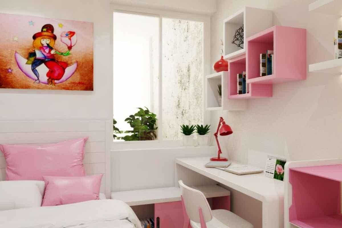 Ý nghĩa của màu hồng khi thiết kế nội thất phòng ngủ