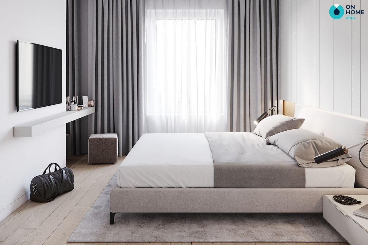 Nội thất phòng ngủ phong cách tối giản