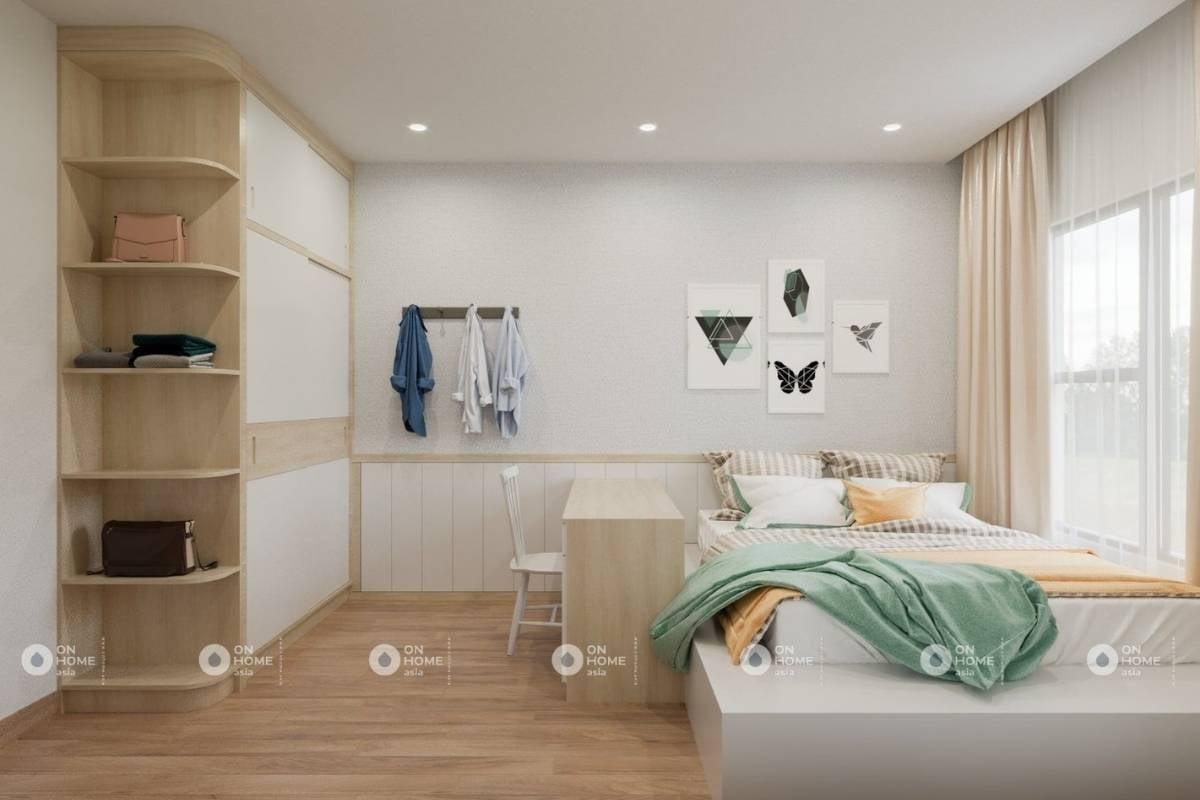 Nội thất Sora Gardens II căn hộ 1 phòng ngủ