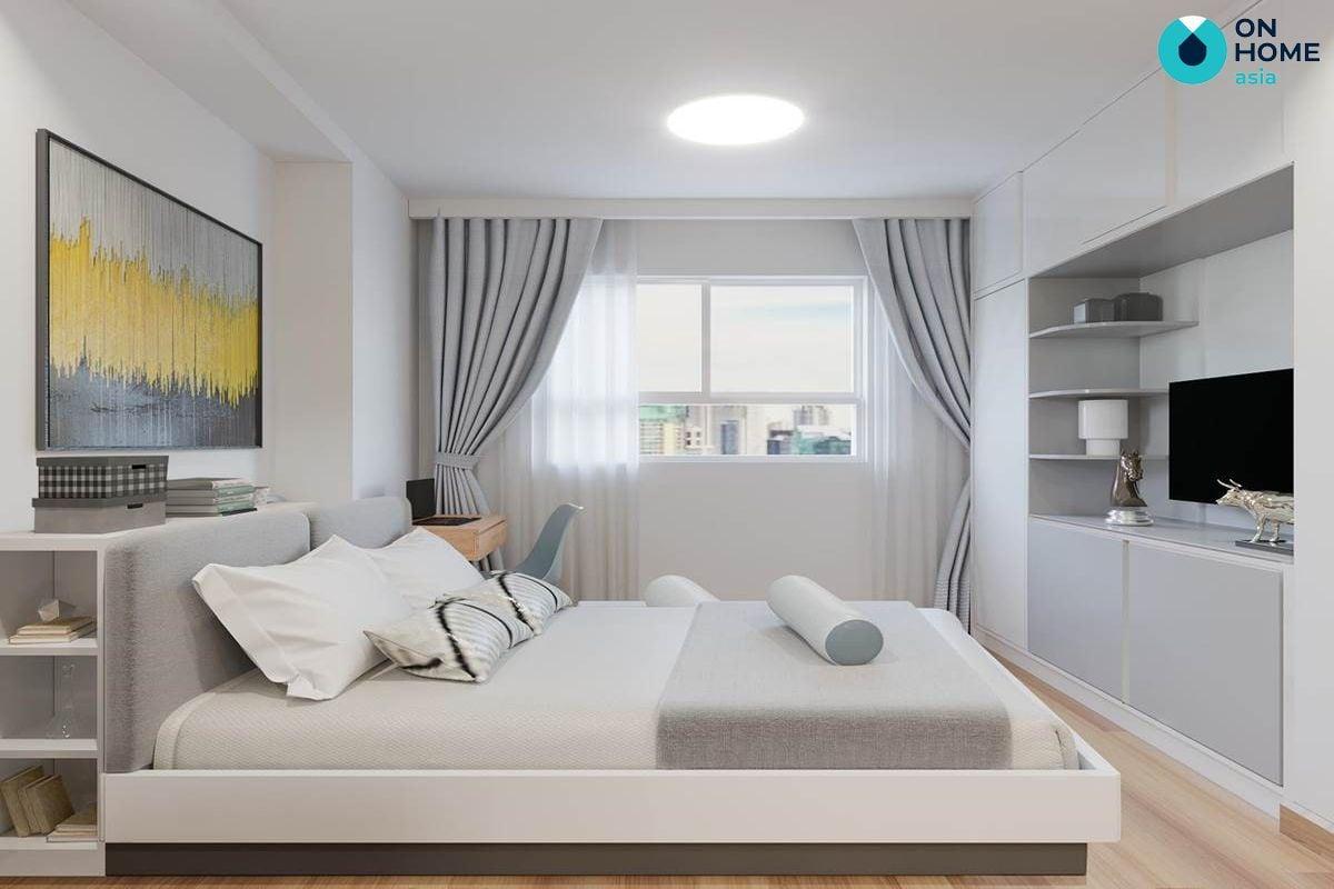 Phòng ngủ - Nội thất chung cư The View 1 phòng ngủ