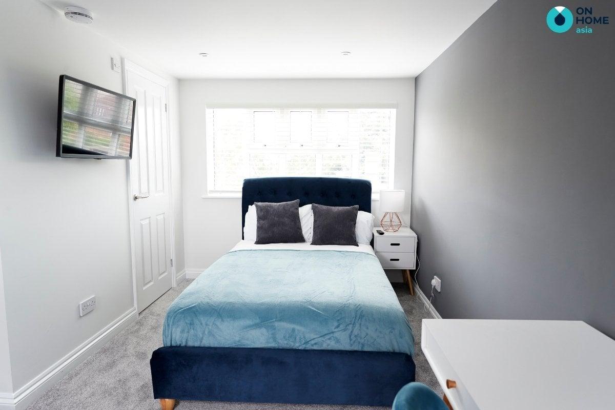 Phòng ngủ tối giản 20m2 đẹp