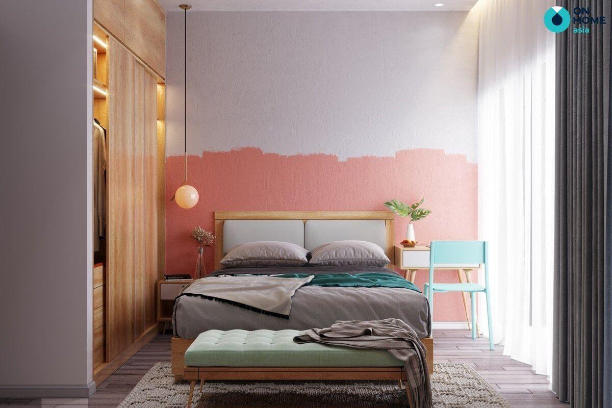 các gam màu phù hợp với phòng ngủ 20m2