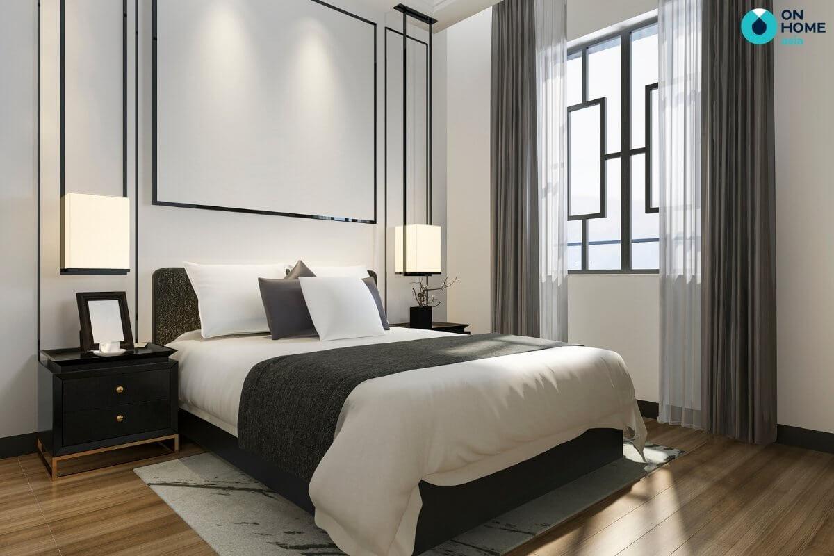 Phòng ngủ tối giản nội thất hiện đại