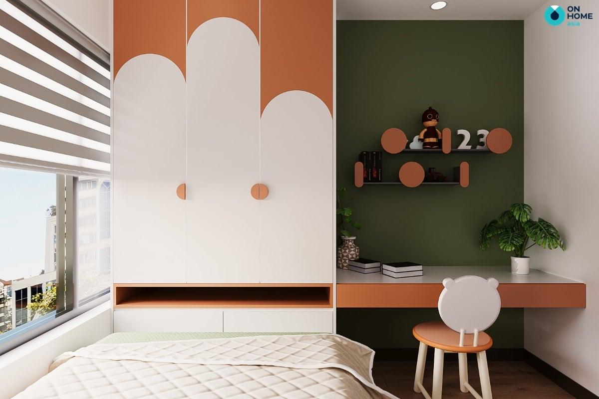 Phòng ngủ nhỏ dành cho trẻ em