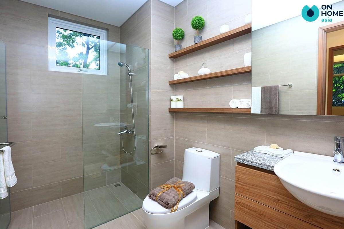 Nhà vệ sinh căn hộ Habitat