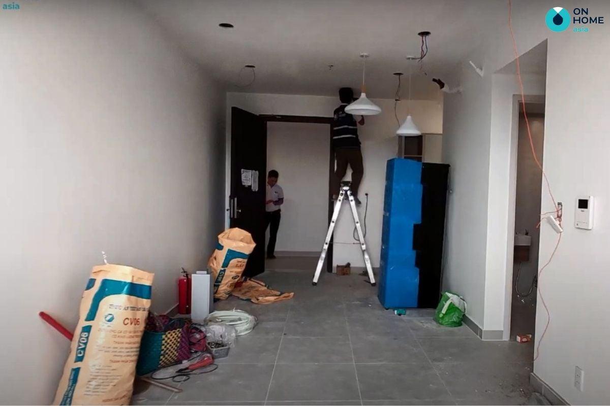 Quy trình thi công nội thất căn hộ