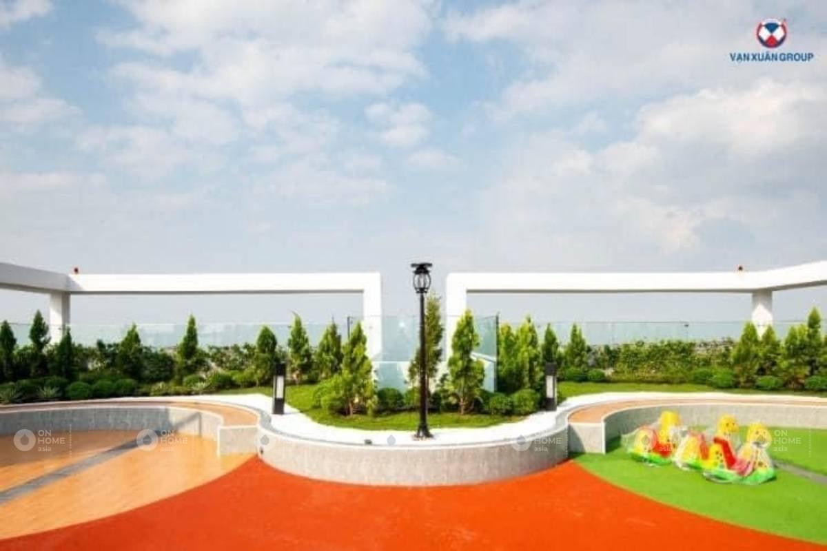 Quảng trường chân mây của dự án Happy One Bình Dương