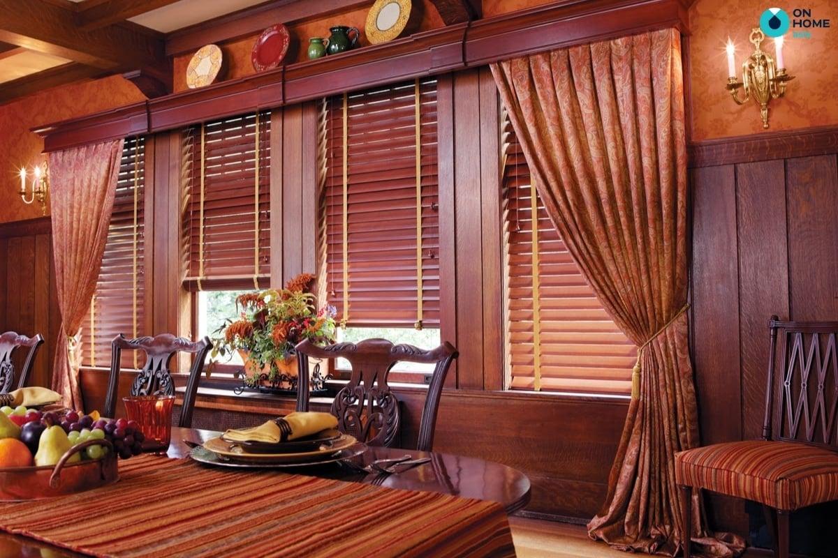 Rèm trang trí Tết giúp ngôi nhà trở nên đẹp và sang trọng hơn vào dịp tết
