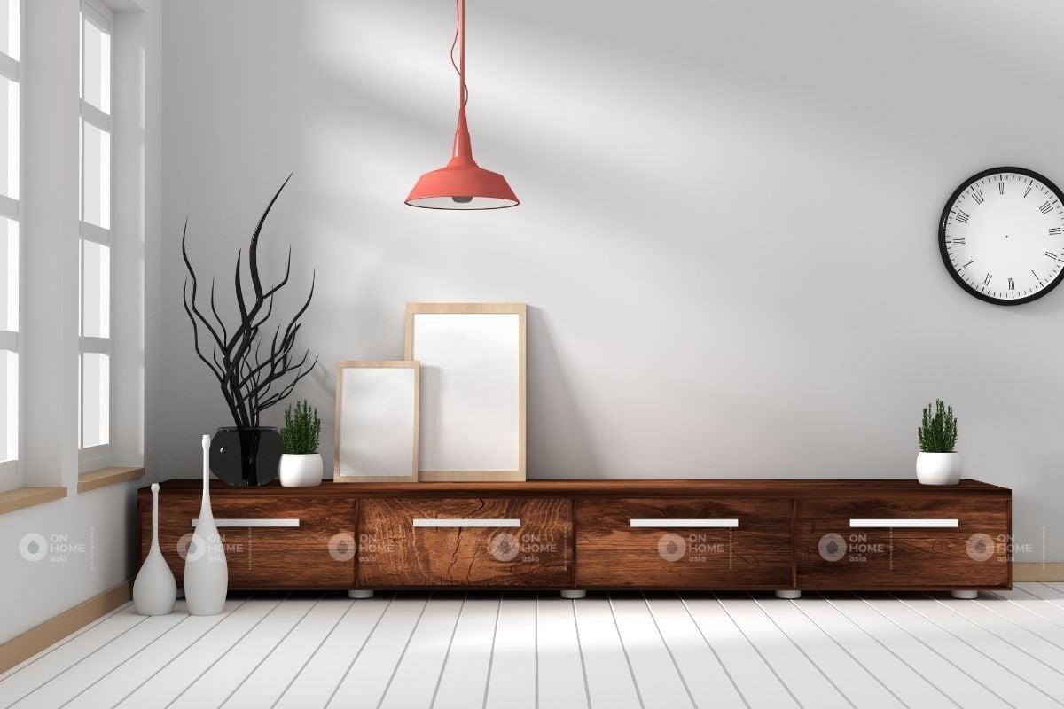 Tủ gỗ phòng khách đẹp