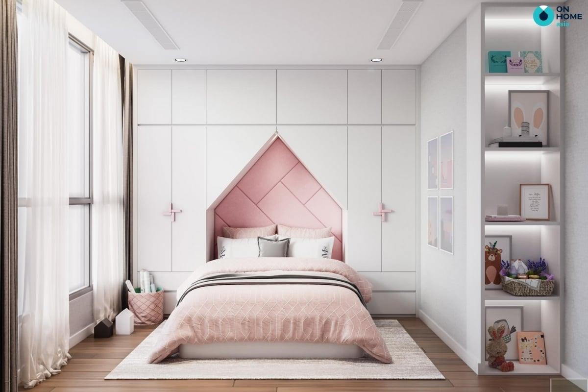 thảm trang trí phòng ngủ bé gái
