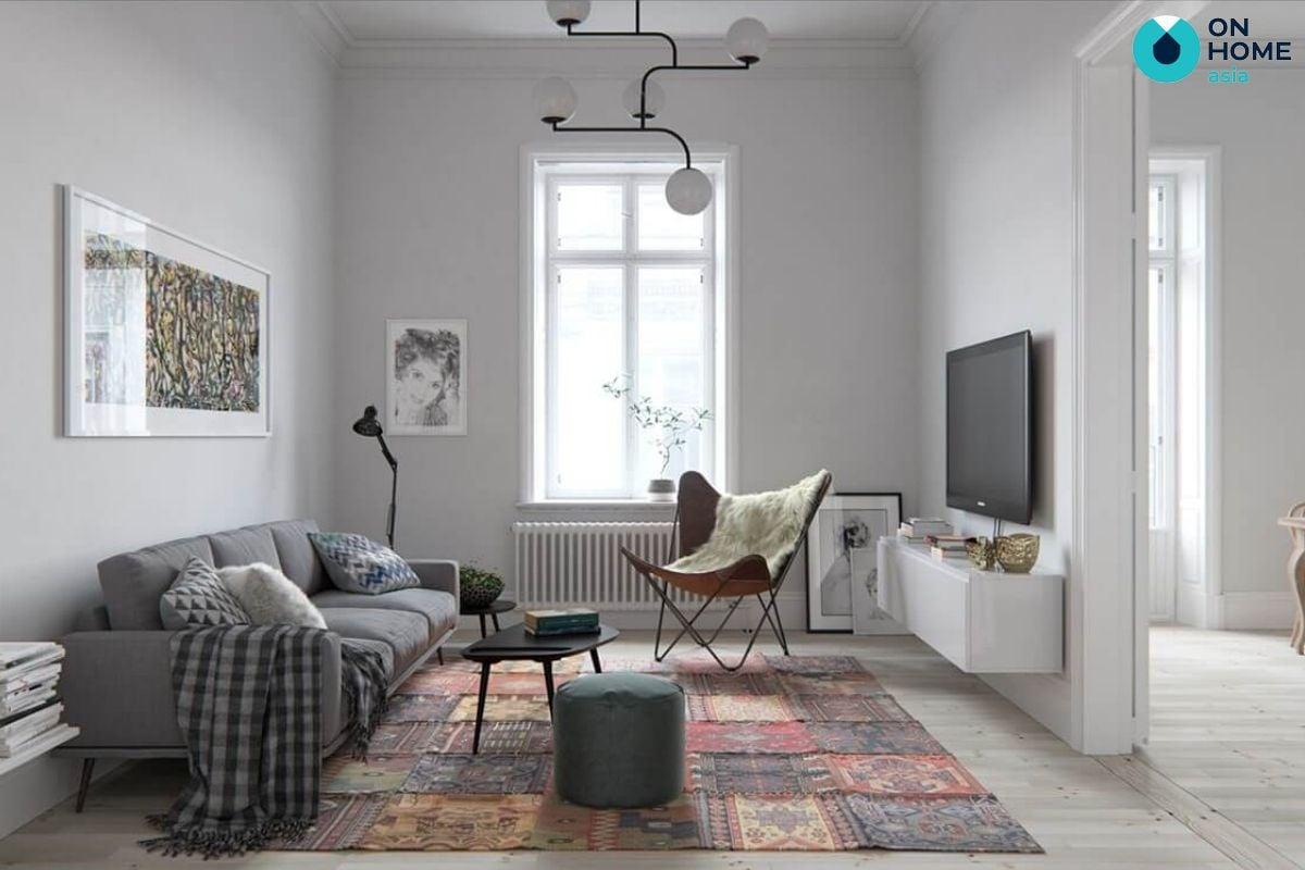 Thi công nội thất nhà phố phong cách Bắc Âu