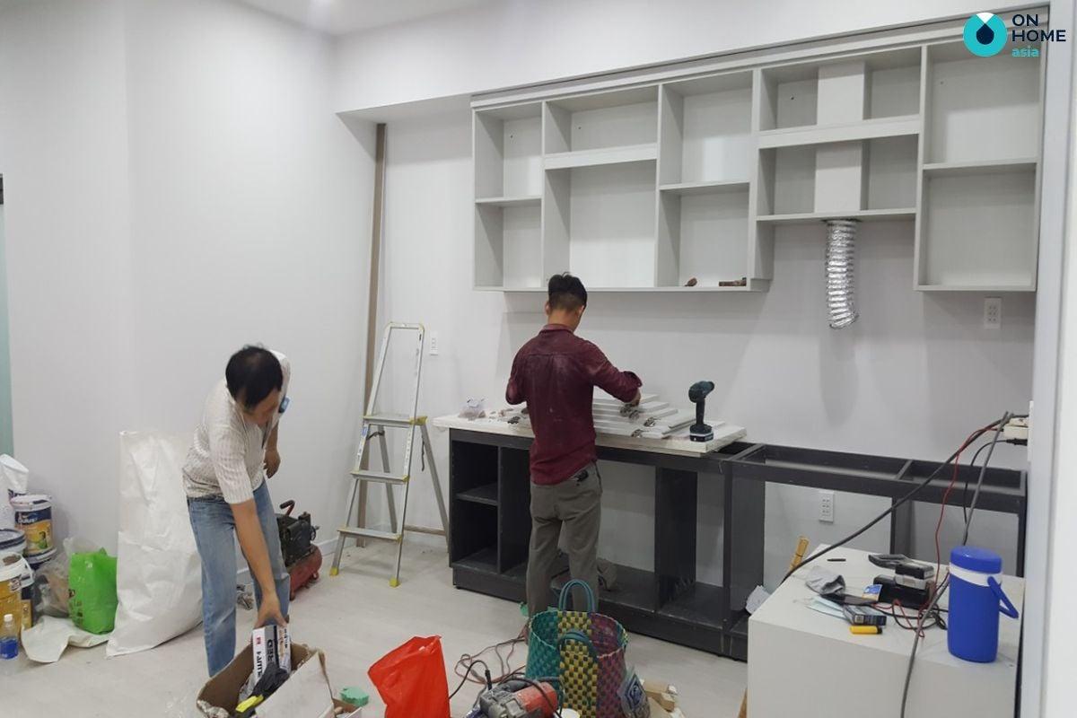 Quá trình thi công nội thất