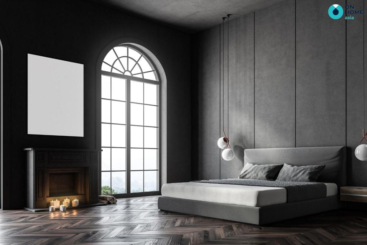 Thiết kế cửa sổ giúp phòng ngủ đón thêm ánh sáng và gió tự nhiên
