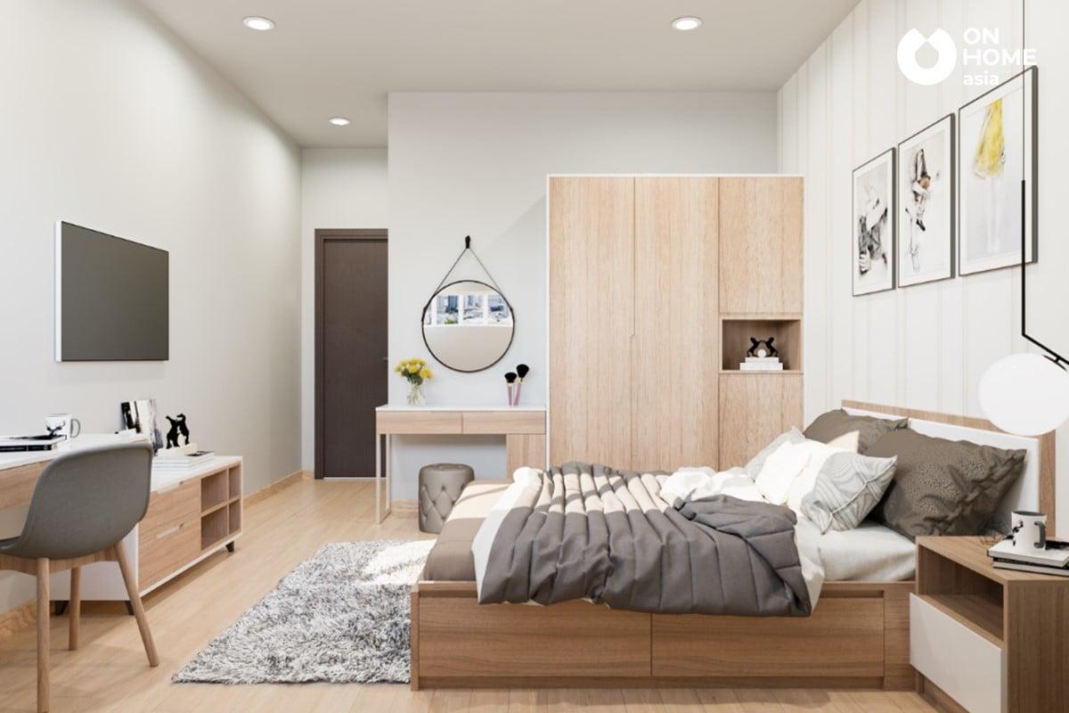 Thiết kế nội thất phòng ngủ the habitat
