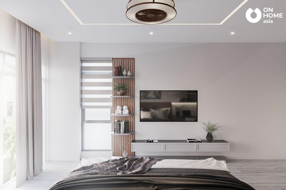 Nội thất phòng ngủ dành nhà phố 3 lầu của chị Hiệp