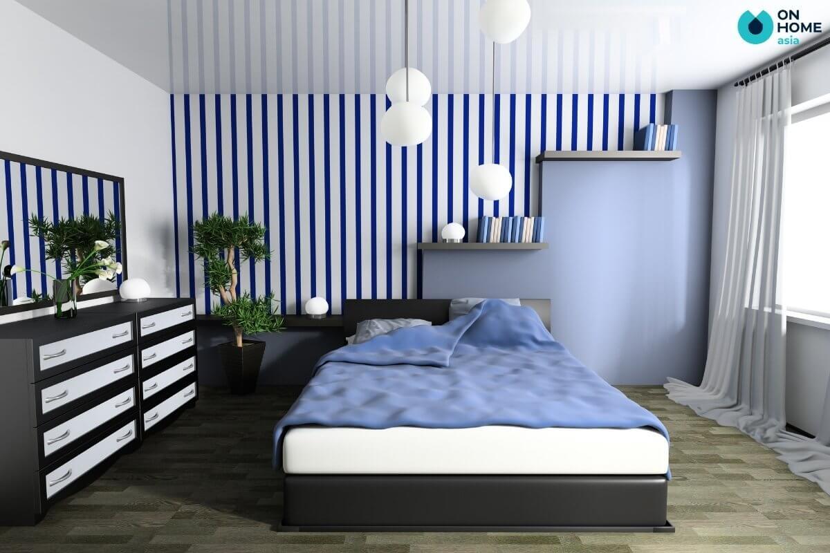 Thiết kế phòng ngủ 20m2 tận dụng ánh sáng