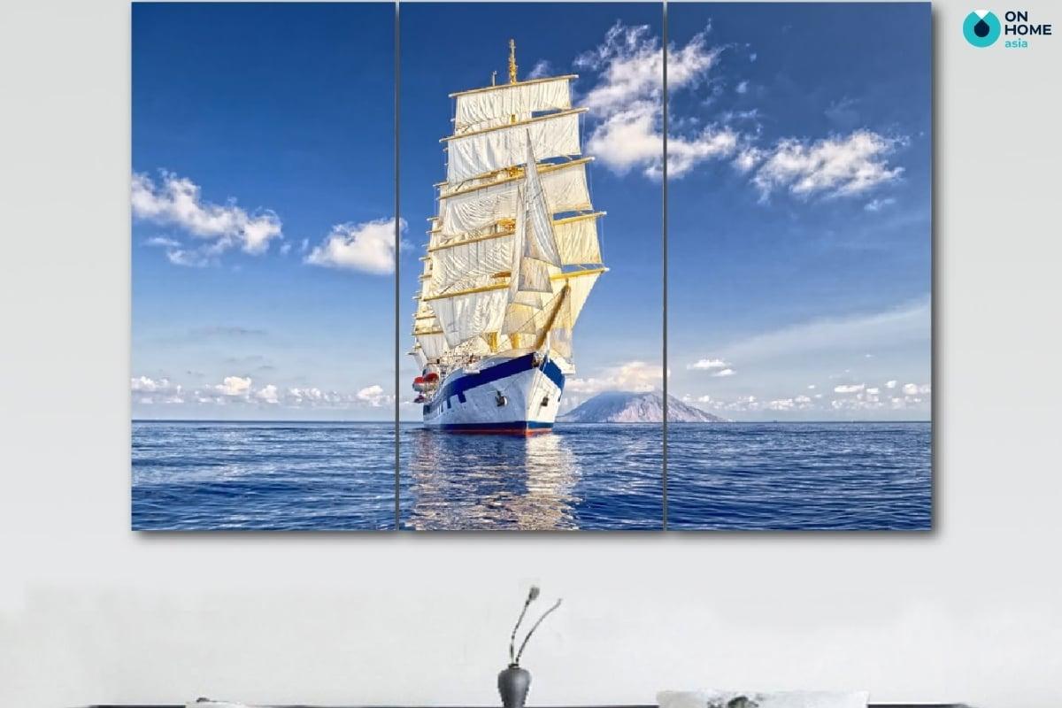 Tranh thuận buồm xuôi gió mới