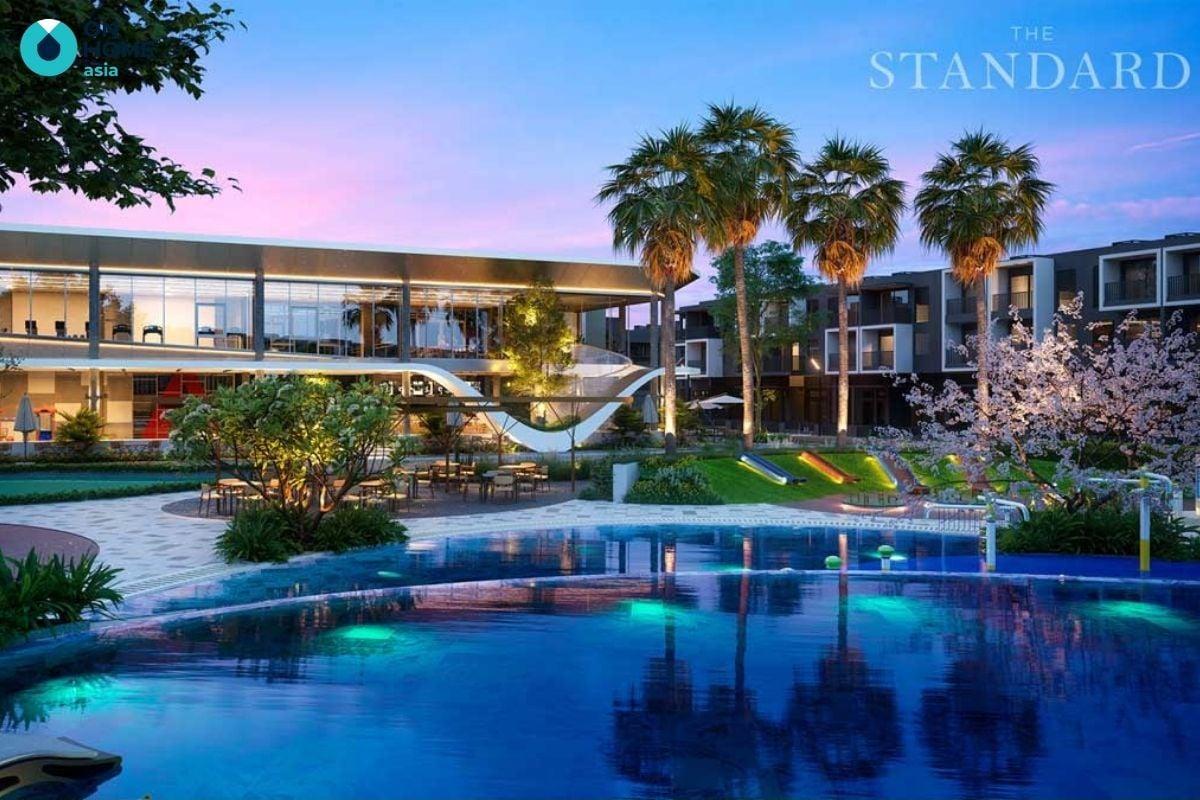 Tiện ích hồ bơi dự án The Standard