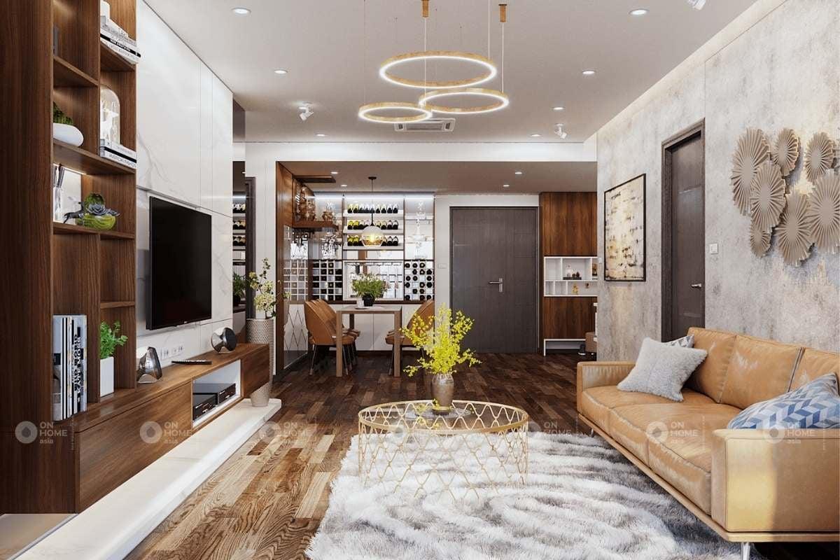 Trang trí tường phòng khách cho ngôi nhà thêm đẹp