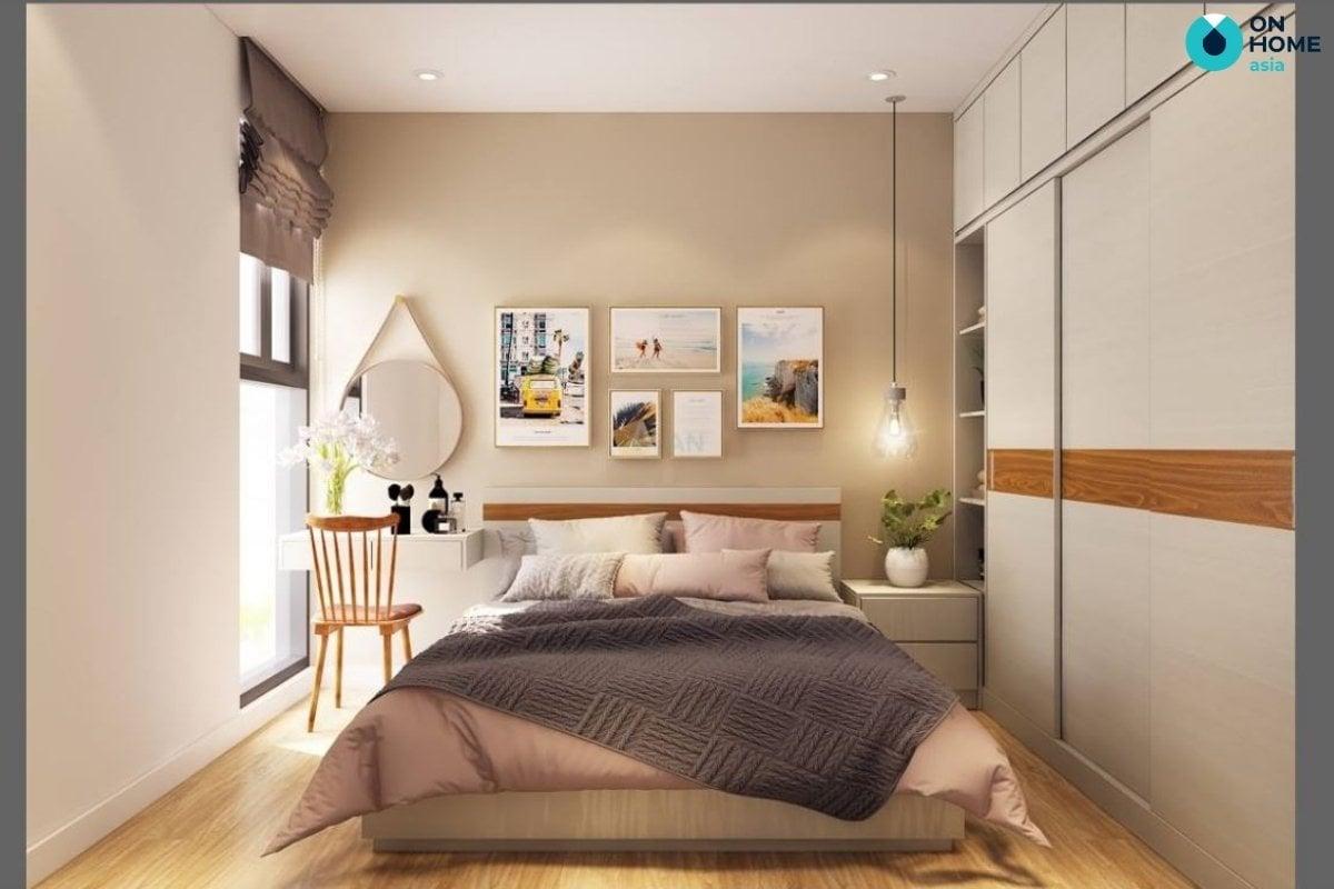 trang trí phòng ngủ 20m2 bằng đồ handmade