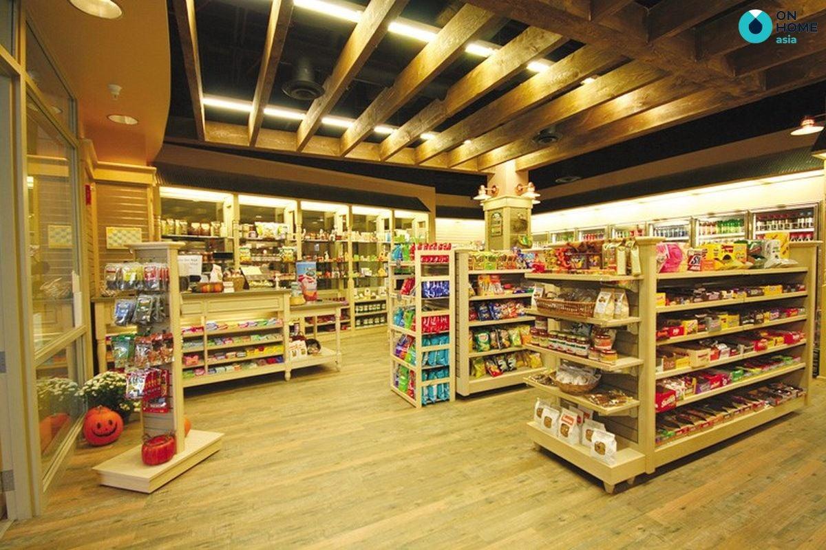 Trung tâm thương mại và mua sắm dự án nhà phố Ecolakes Mỹ Phước