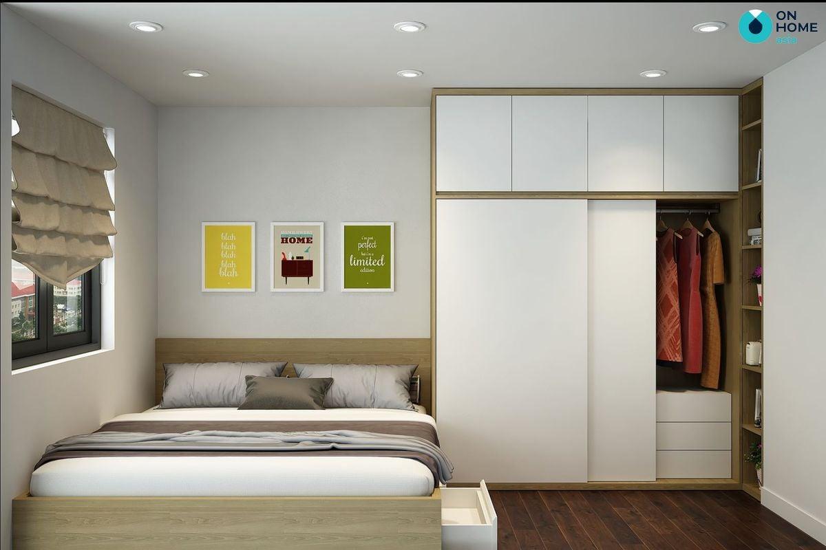 Tủ quần áo phòng ngủ rất đa dạng về màu sắc, kiểu dáng và chất liệu