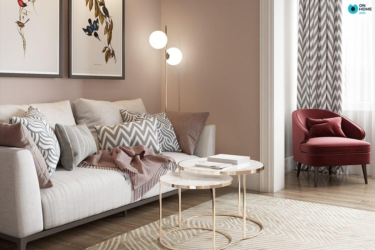 Sofa tối giản tinh tế