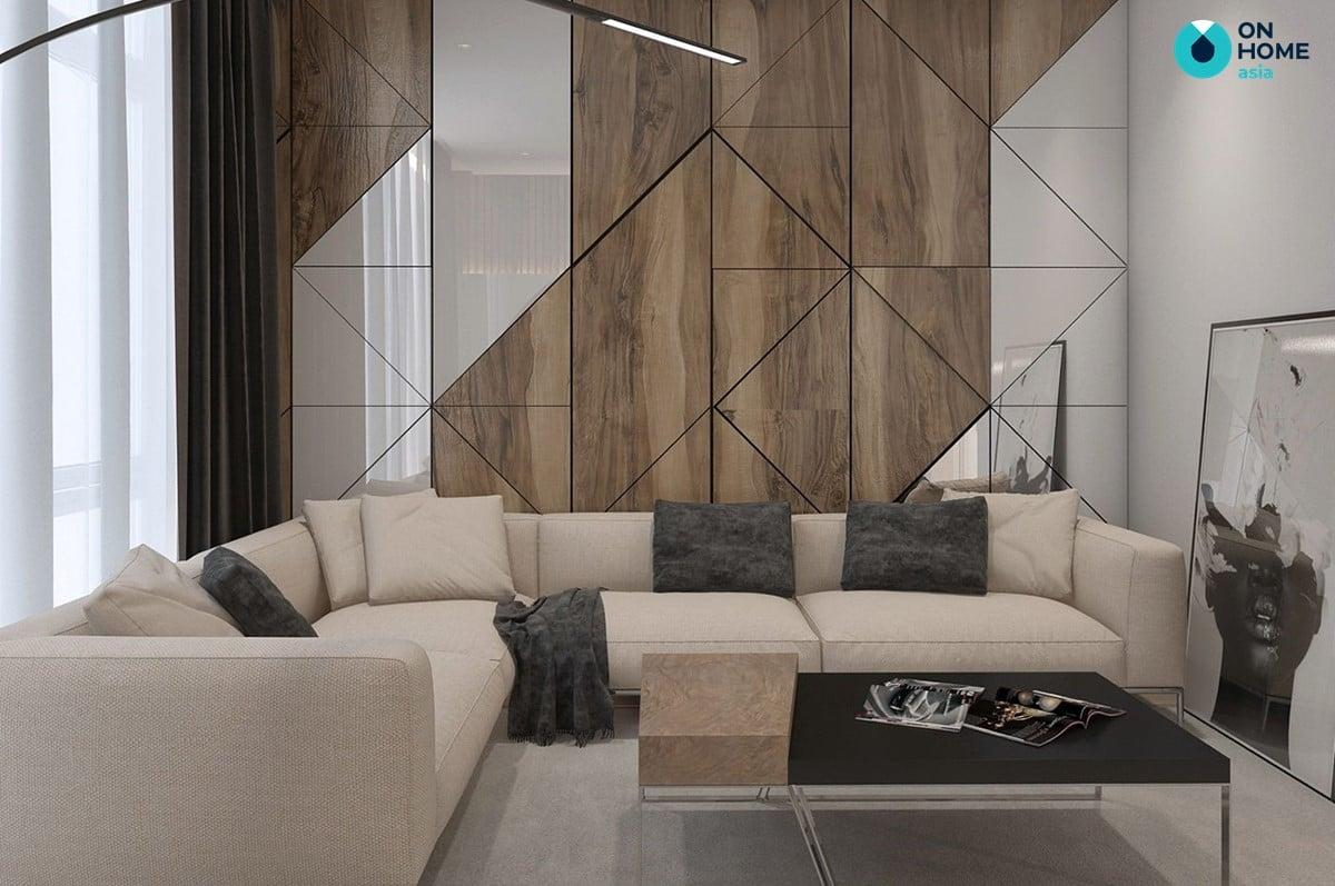 Tường gỗ