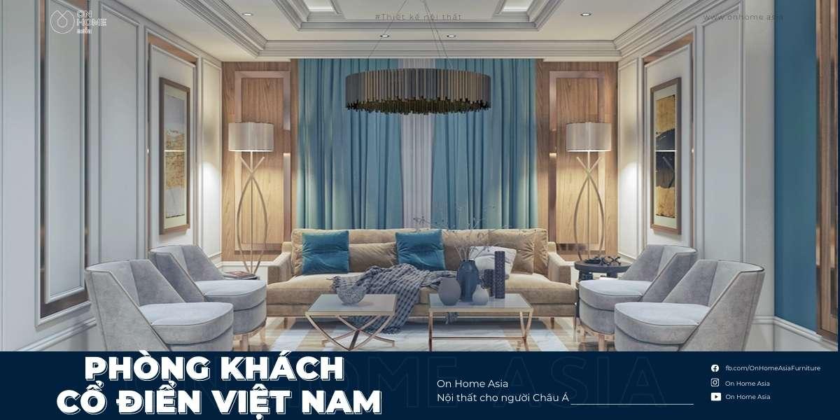 Top 40+ mẫu phòng khách cổ điển Việt Nam đẹp mê ly không thể bỏ lỡ
