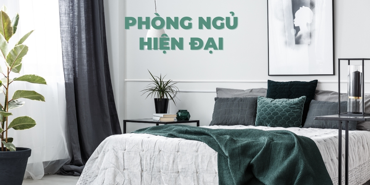Top 10 thiết kế nội thất phòng ngủ hiện đại đẹp