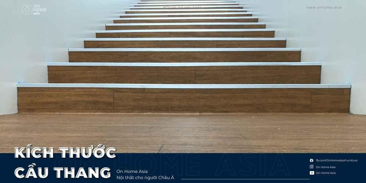 Kích thước cầu thang chuẩn bài phong thủy không phải ai cũng biết
