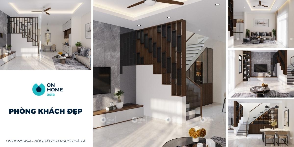 Phòng khách đẹp | Tuyển chọn 20+ mẫu phòng khách vạn người mê
