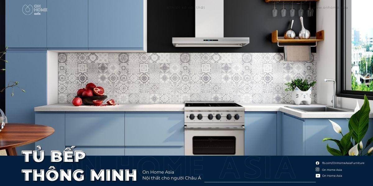 Tủ bếp thông minh giá bao nhiêu? Nhũng lưu ý khi thiết kế tủ bếp