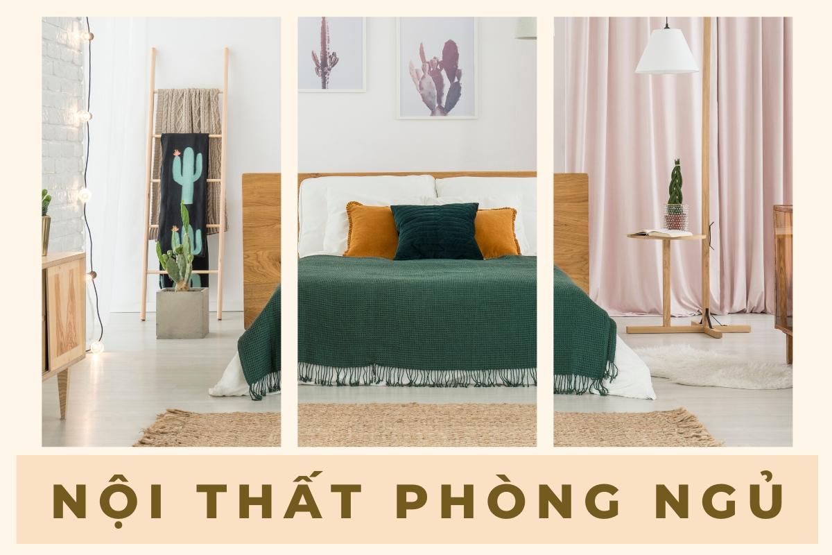 Những mẫu thiết kế phòng ngủ đẹp diện tích dưới 25m2