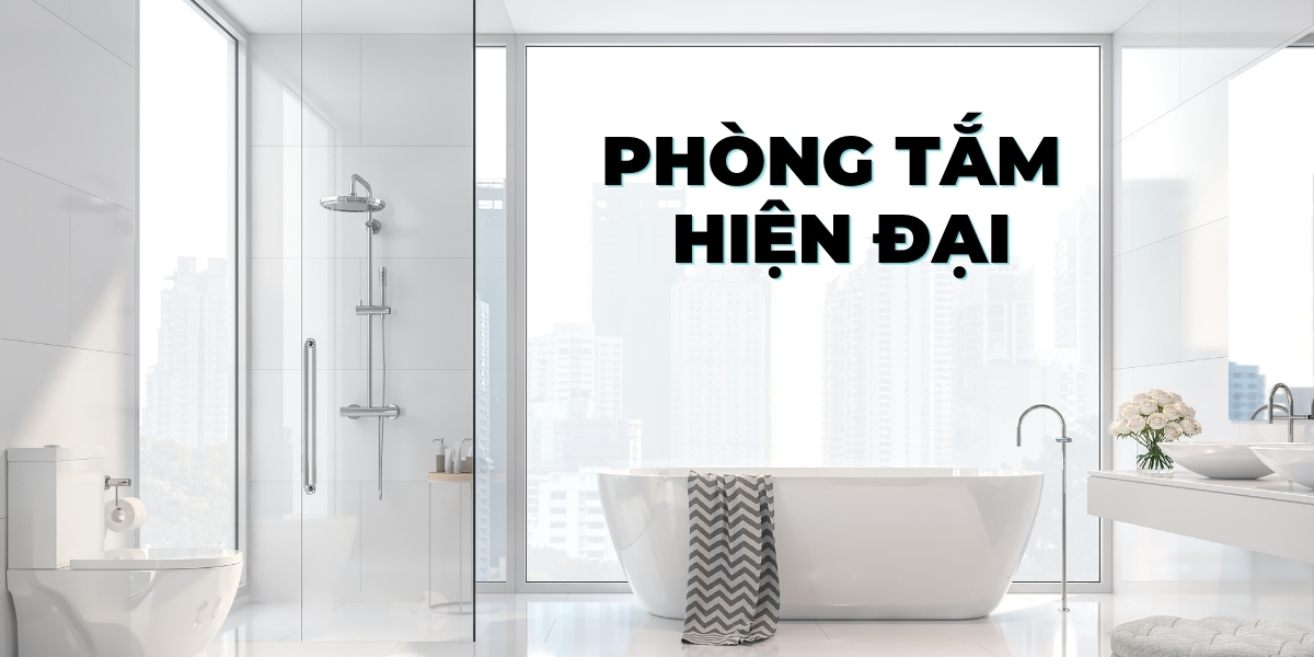 10+ mẫu nội thất phòng tắm hiện đại được sử dụng trong năm nay